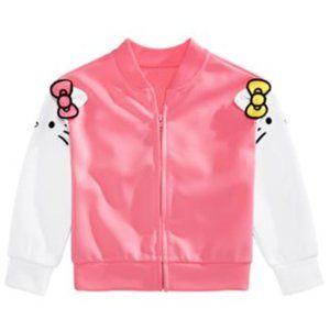 Hello Kitty HK & Mimi Full-zip Bomber Jacket